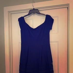 Francesca blue dress